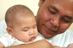 Dad and Baby 3