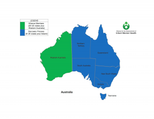 Australia Alliance map