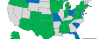 US Alliance members map
